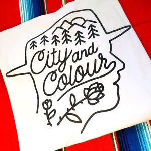 💿🎸🎙City and Colour Tee🎙🎸💿